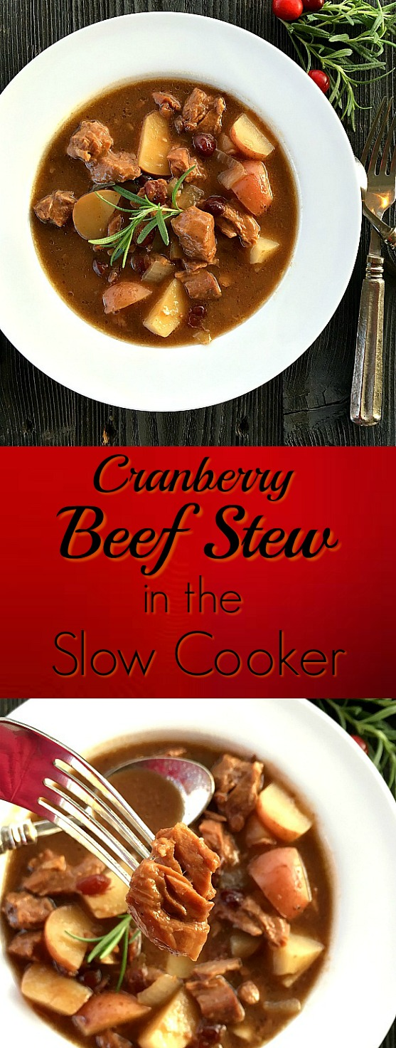 Cranberry Beef Stew Is One Of The Easiest Meals For The Slow Cooker Rich
