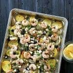 Mediterranean Shrimp Dinner – One Pan Recipe