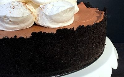 Mexican Chocolate Mousse Pie