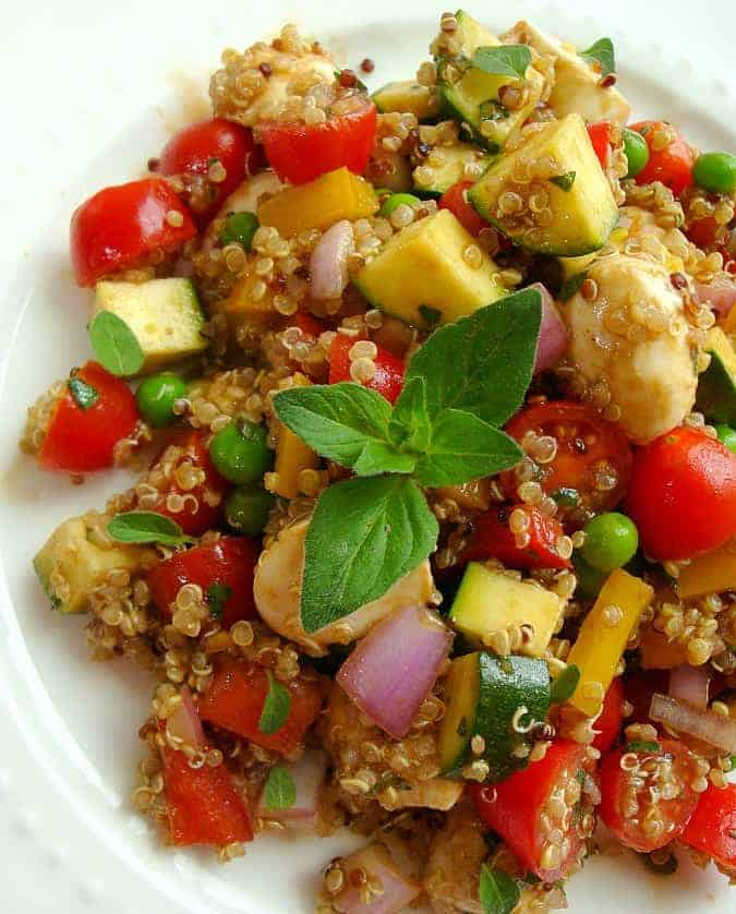 Vegetable and Quinoa Salad Recipe