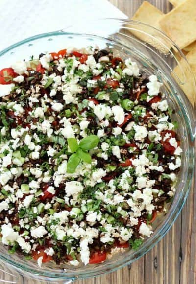 Ultimate Greek 7-Layer Dip