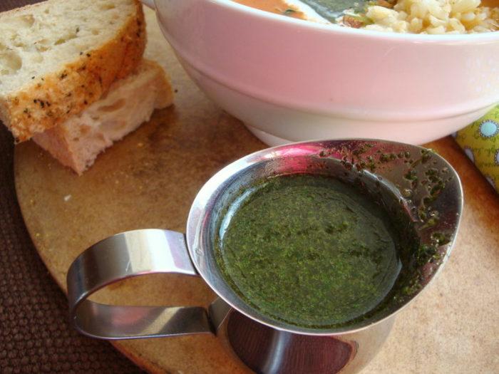 Chimchurri or Oregano Pesto