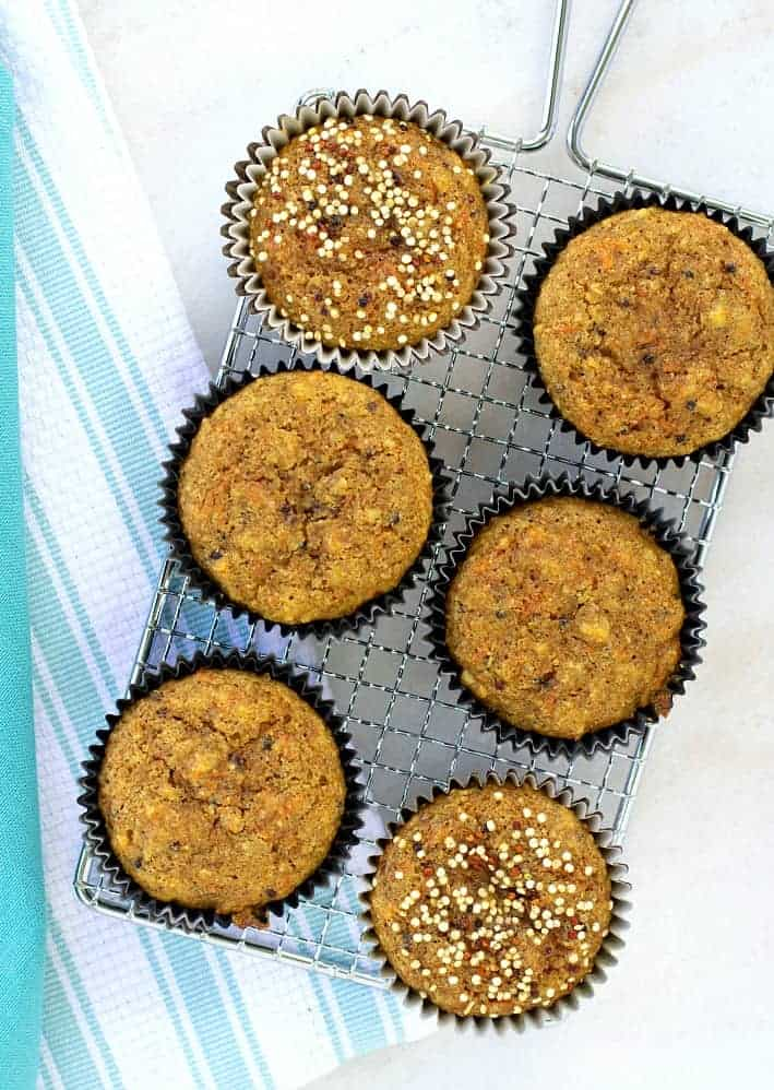 Carrot and Quinoa Muffins