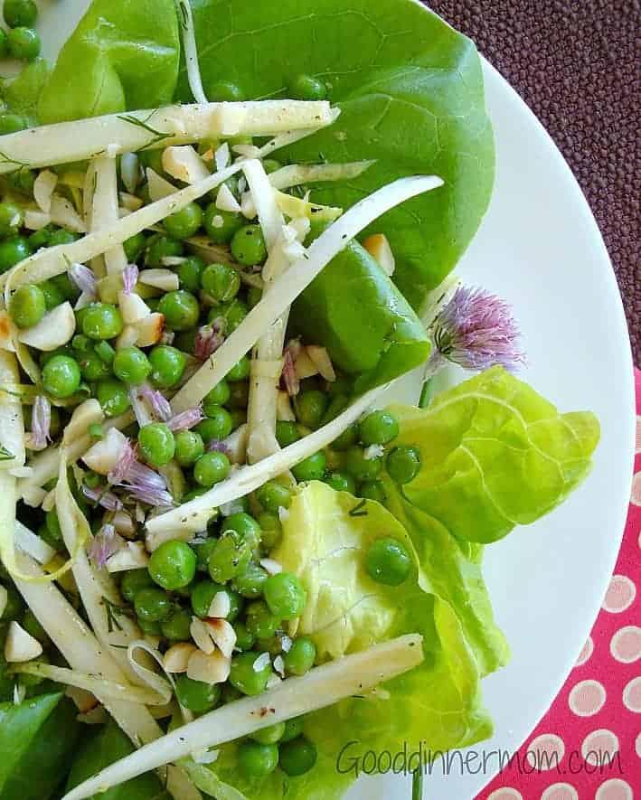 Pea Salad Recipe With Lettuce