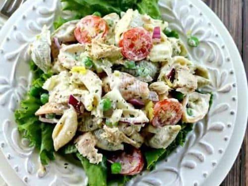 Tuna Pasta Salad Good Dinner Mom