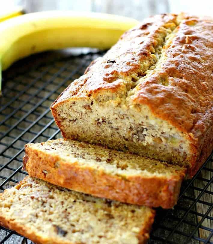 Perfect Classic Banana Bread
