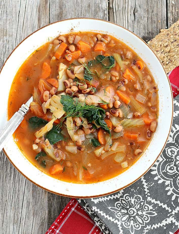 Hearty Vegetable and Black-eyed Pea Stew