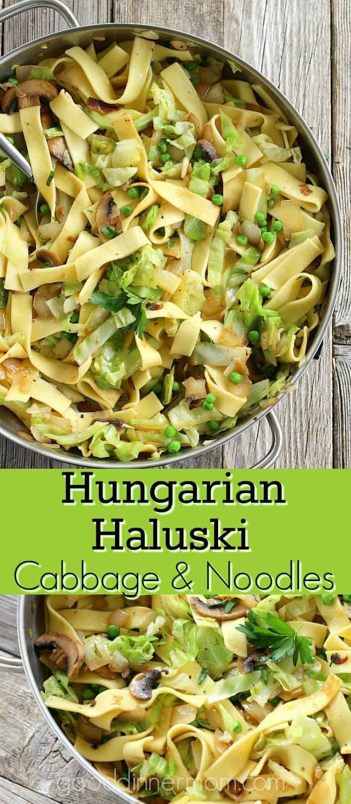 Cabbage and Noodles pinterest pin