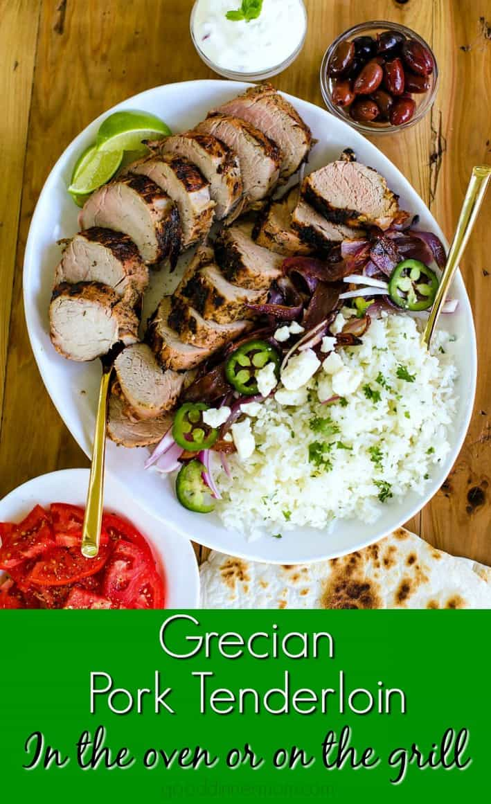 Grecian Pork Tenderloin Good Dinner Mom