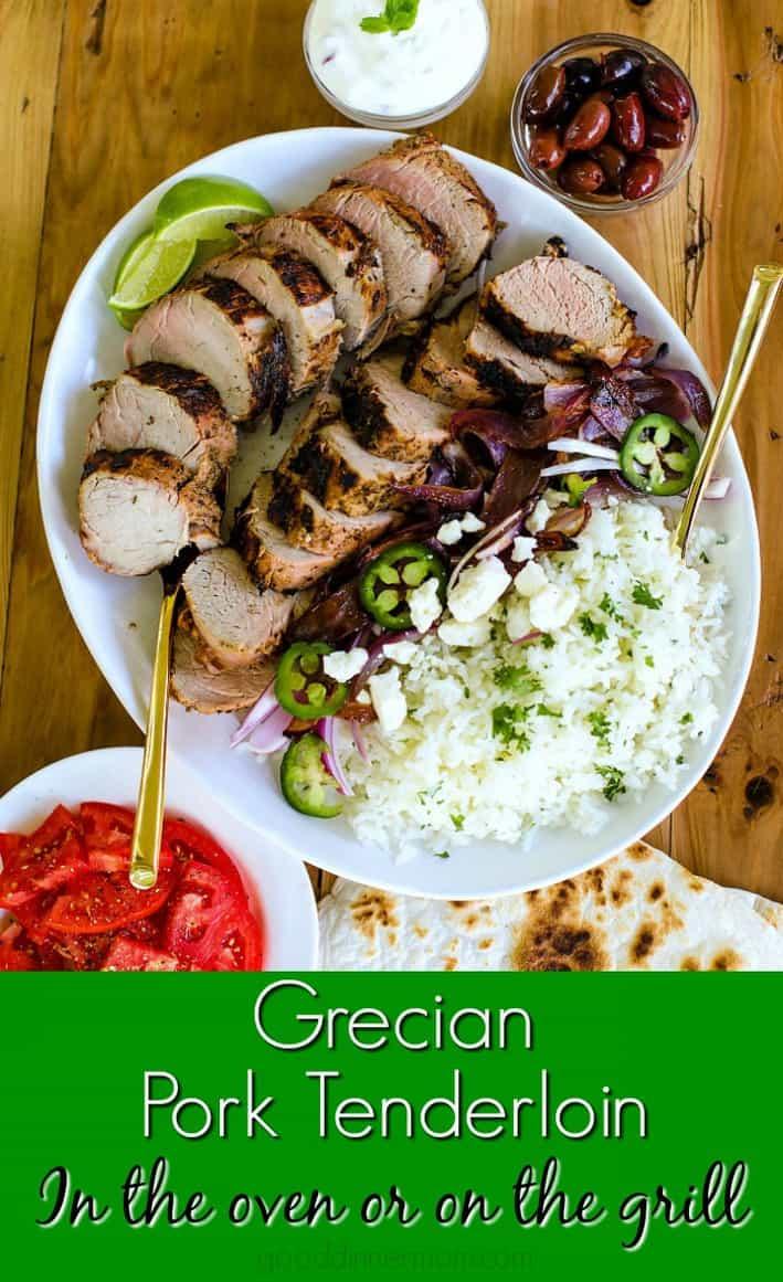 Grecian pork pinterest pin
