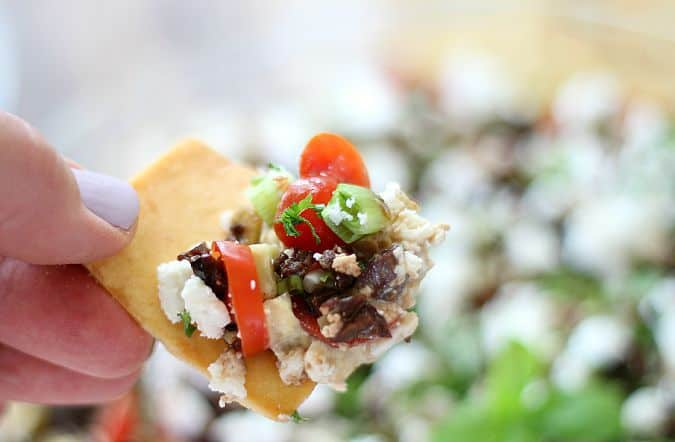 Ultimate Greek 7 Layer Dip