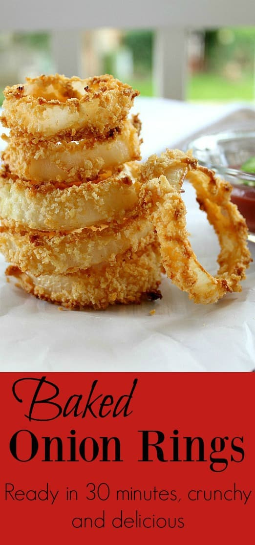 Delicious Baked Onion Rings