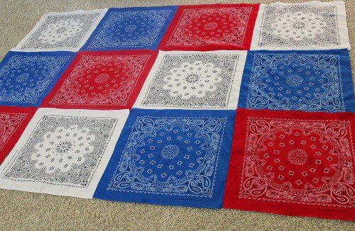 Bandana Patchwork Tablecloth