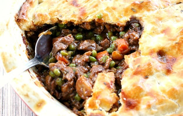 The filling in this Beef Pot Pie recipe is guaranteed to create the ...