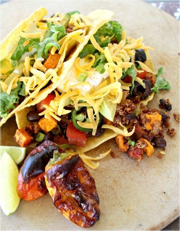Black Bean and Quinoa Tacos – Good Dinner Mom