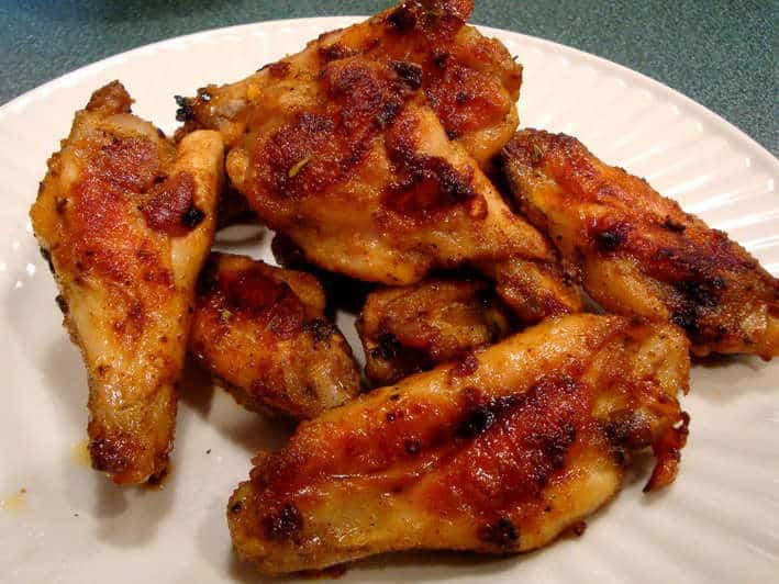 how to make spicy chicken wings like kfc