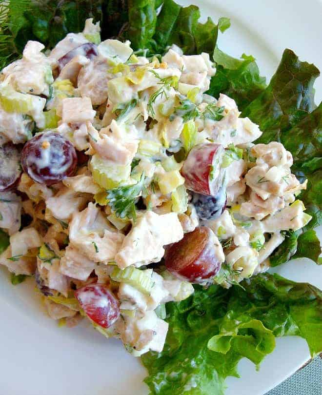 Classic Chicken Salad with a twist is one of the best chicken salad recipes ever.