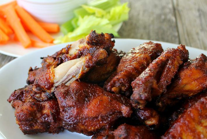 Juicy Tender And Delicious Chicken Wings That Fall Of The Bone Are Easy
