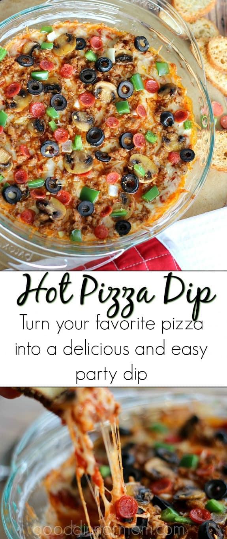 Hot Pizza Dip pinterest pin