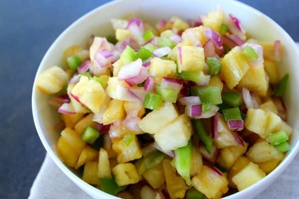 Simple Pineapple Salsa