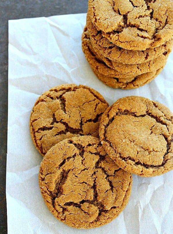Truly the best molasses cookies, with a secret ingredient for that perfect bite.