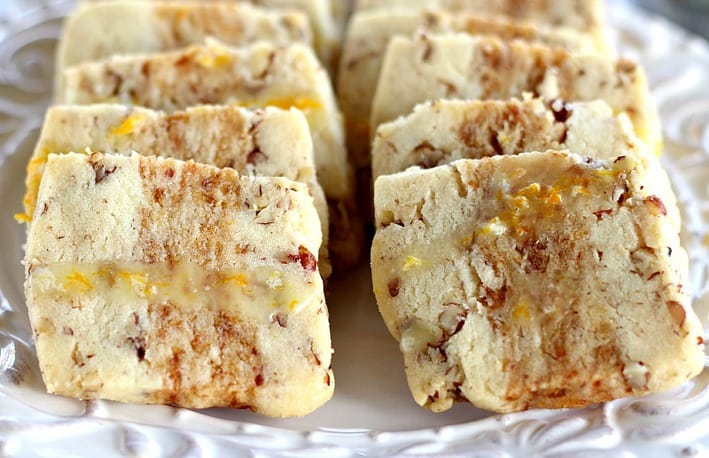 Orange Date Nut Cookies