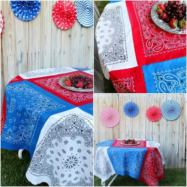 Patchwork Tablecloth DIY