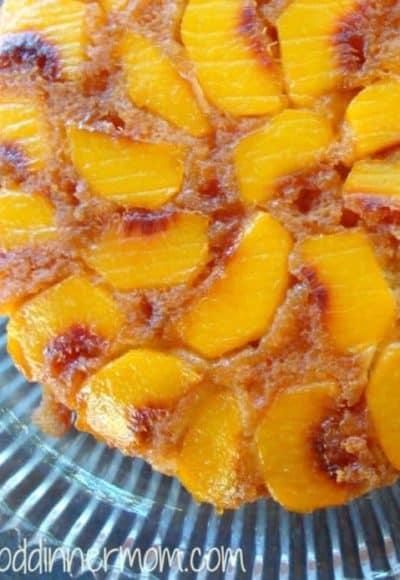Peach Tatin