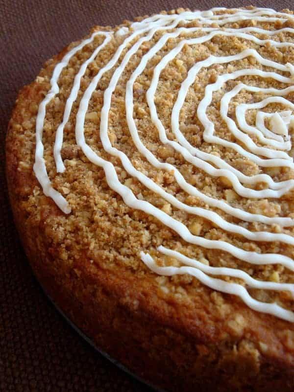 Buttermilk Peach Coffee Cake