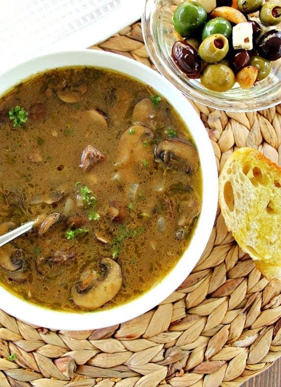 Leftover Pot Roast Soup