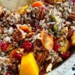 Wild Rice Pilaf with Squash and Pecans
