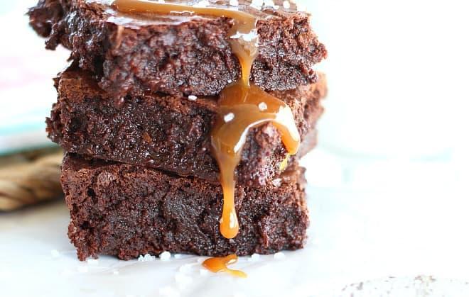 Salted Caramel Brownie1