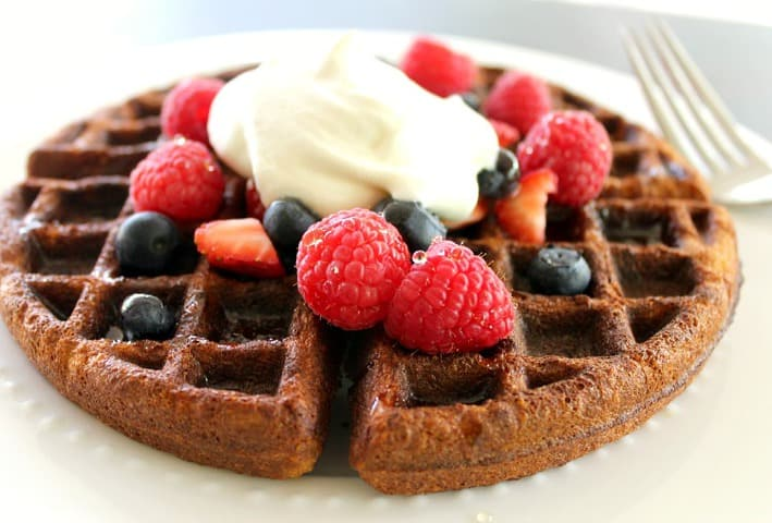 The Best Gluten Free Waffles.