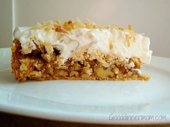 Walnut Torte, Walnut Pie.... a makeover on Soda Cracker Pie