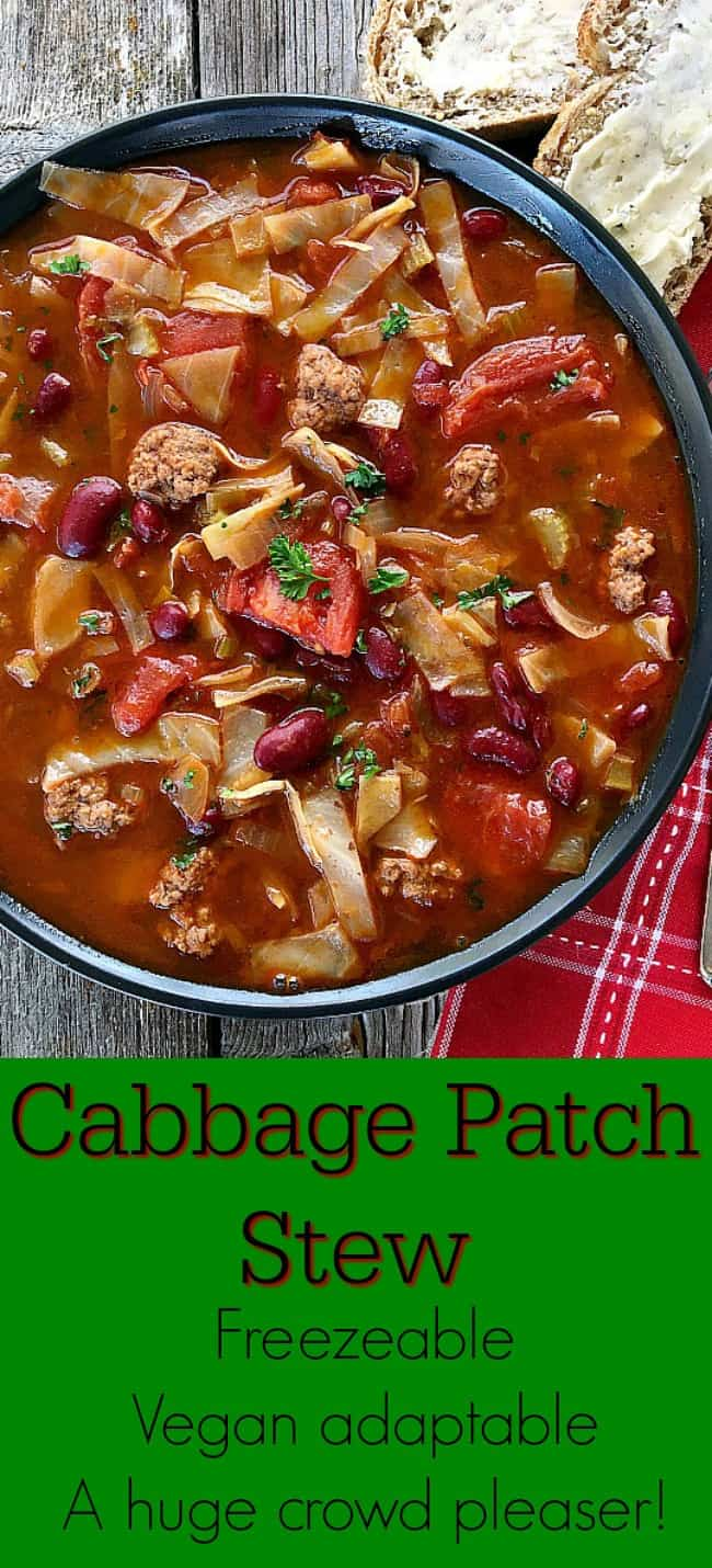 Cabbage Soup pinterest pin