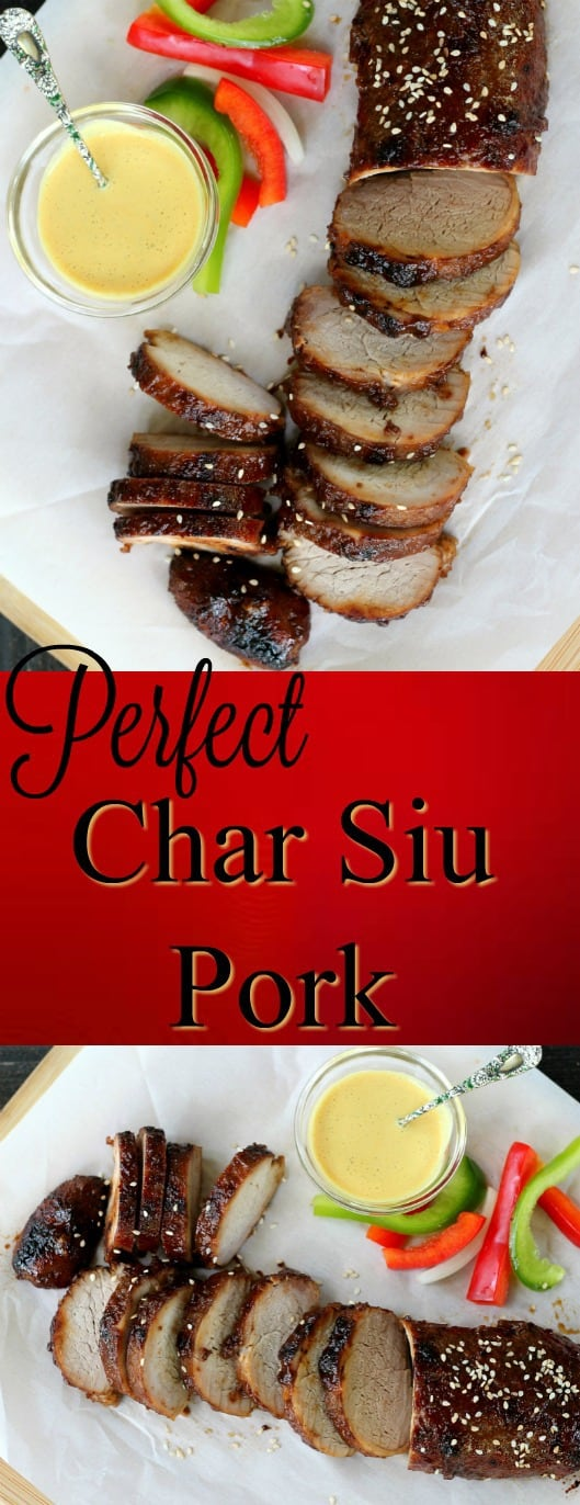 Char Siu Pork is easy to make to perfection for a crowd pleasing appetizer or weeknight star. The marinade serves as basting liquid and crispy glaze.