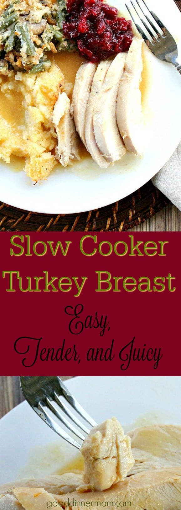 Slow Juicer Turkey : Slow Cooker Turkey Breast Good Dinner Mom