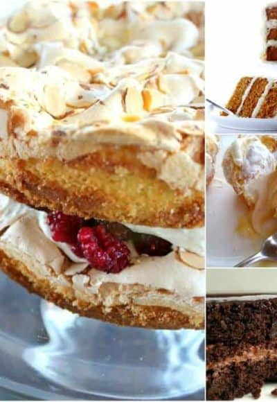 A perfect collection of Easter dessert recipes that's sure to please. From cream puffs to blitz torte, carrot cake to gluten-free chocolate cake.
