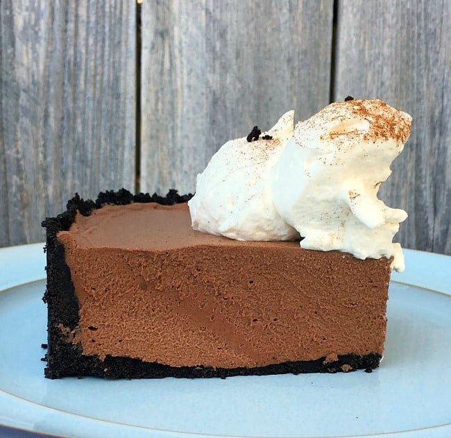 This Mexican Chocolate Mousse Pie is guaranteed to be the star of your dessert table. Incredibly impressive but foolproof simplicity.