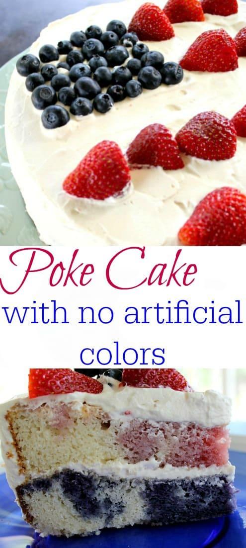 Natural Poke Cake