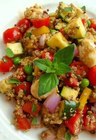 Quinoa and Vegetable Salad Recipe